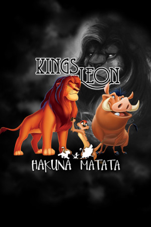 Camiseta Kings of Leon Hakuna Matata
