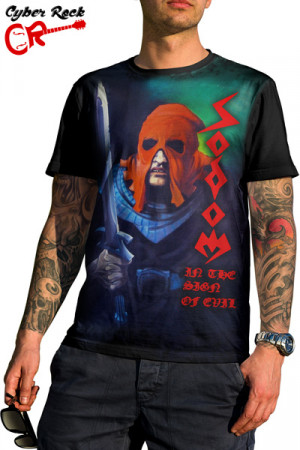 Camiseta Sodom in the Sign of Evil