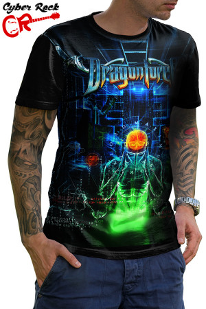 Camiseta DragonForce Maximum Overload