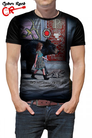Camiseta Red Hot Chili Peppers The Getaway