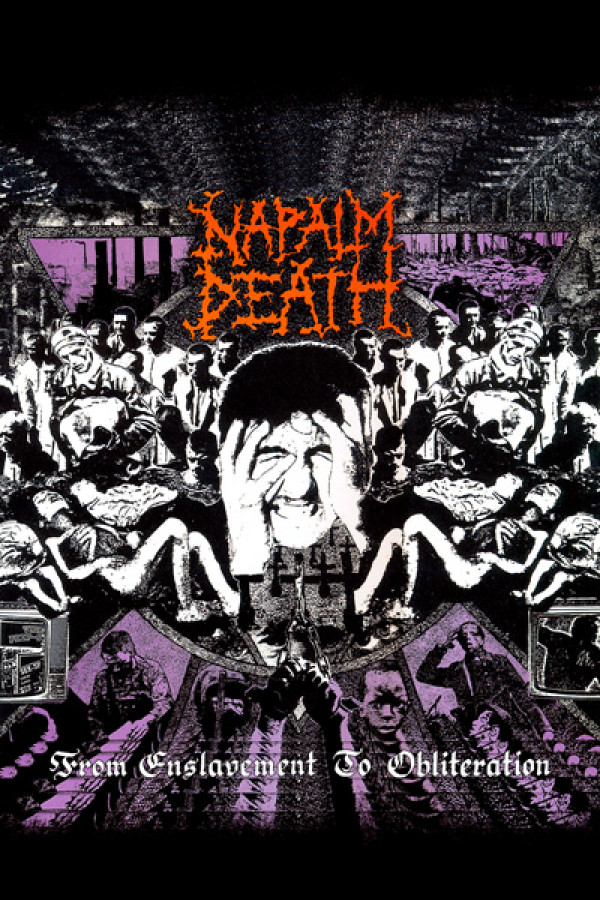 Camiseta Napalm Death From Enslavement To Obliteration