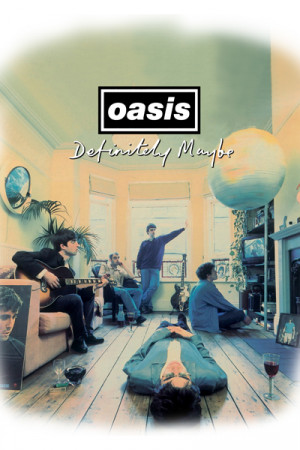 Camiseta Oasis - Definitely Maybe