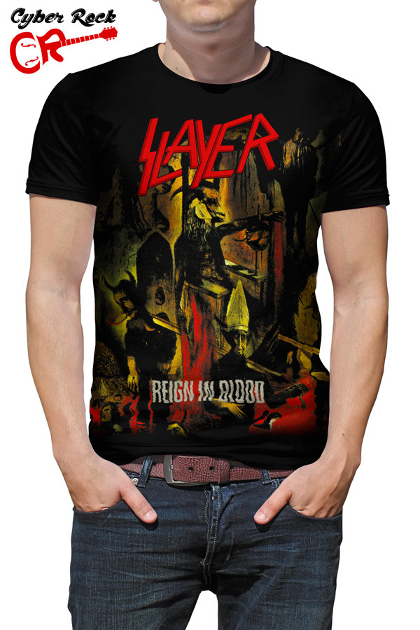 Camiseta Slayer Reign in Blood