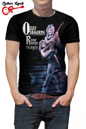Camiseta Ozzy Osbourne Randy Rhoads Tribute