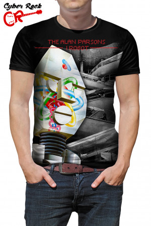 Camiseta The Alan Parsons Project I Robot