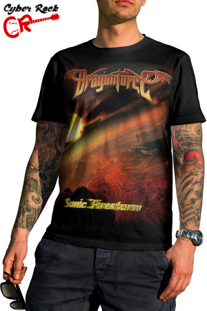 Camiseta Dragonforce Sonic Firestorm
