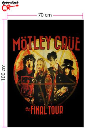 Bandeira Motley Crue the Final Tour