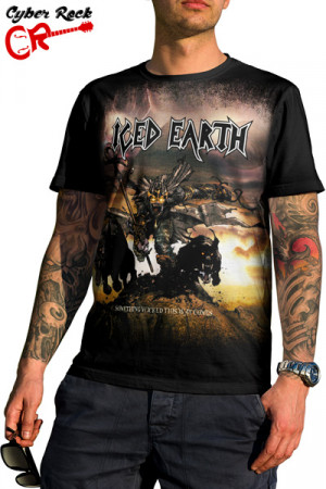 Camiseta Iced Earth - Something Wicked This Way Comes