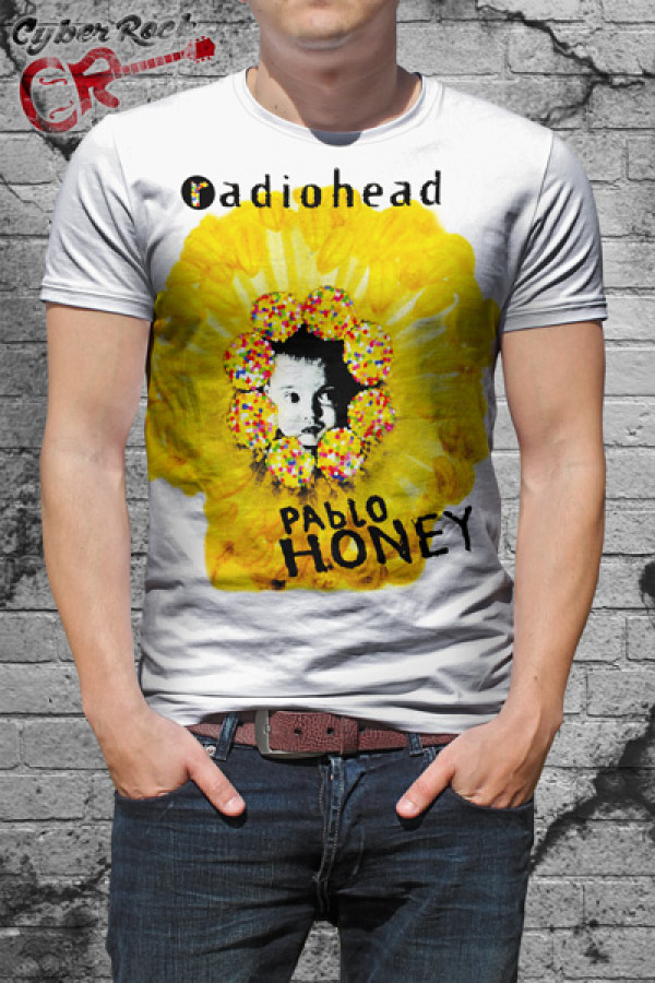 2559597420 Camiseta Radiohead Pablo Honey ...