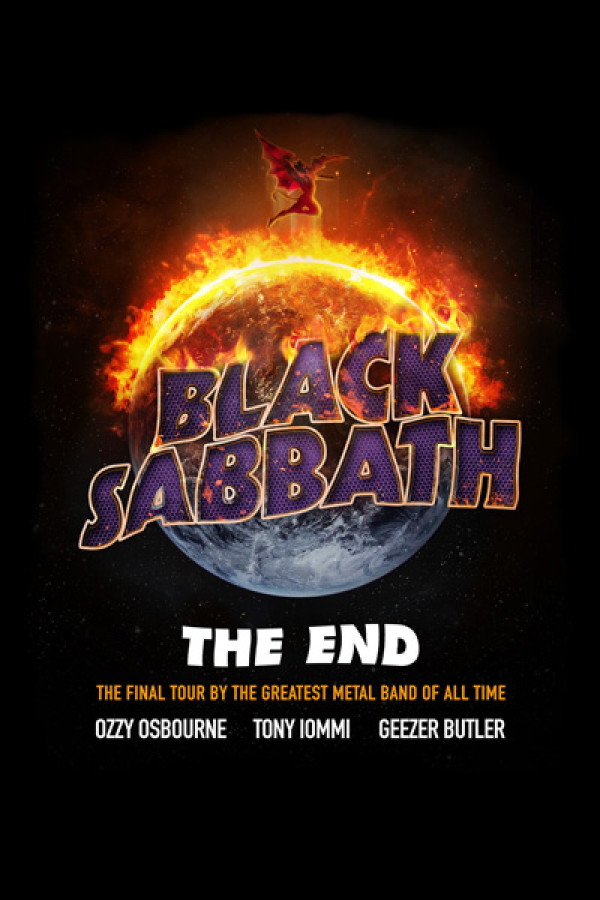 Regata Black Sabbath The End Tour