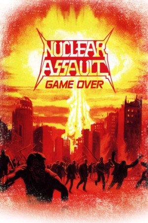 Camiseta Nuclear Assault Game Over