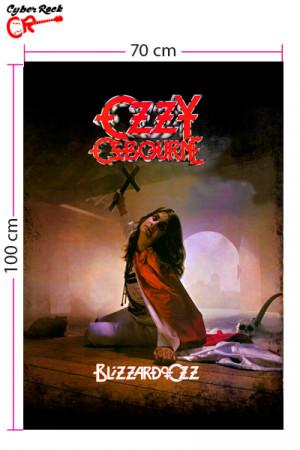 Bandeira Ozzy Osbourne Blizzard of Ozz