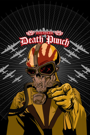 Camiseta Five Finger Death Punch II