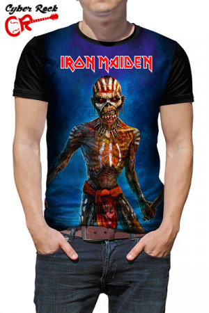 Camiseta Iron Maiden Book Souls