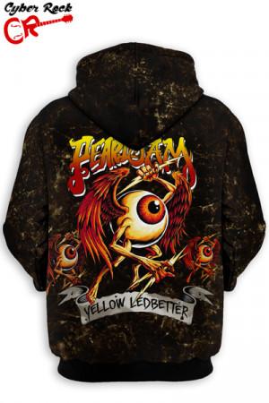 Blusa Moletom Pearl Jam Yellow Ledbetter