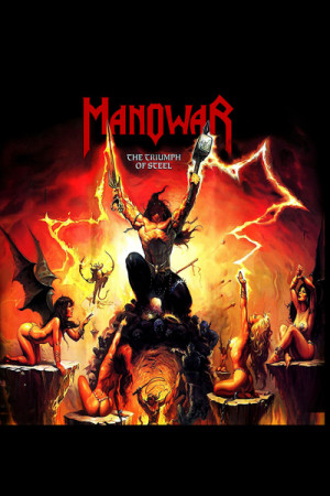 Camiseta Manowar the Triumph of Steel
