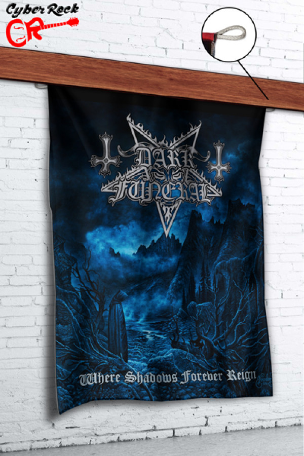 Bandeira Dark Funeral - Where Shadows Forever Reign