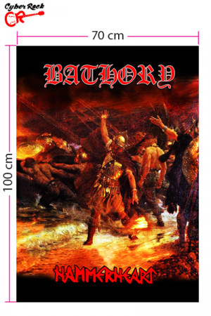 Bandeira Bathory - Hammerheart