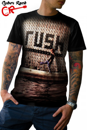 Camiseta Rush Roll The Bones