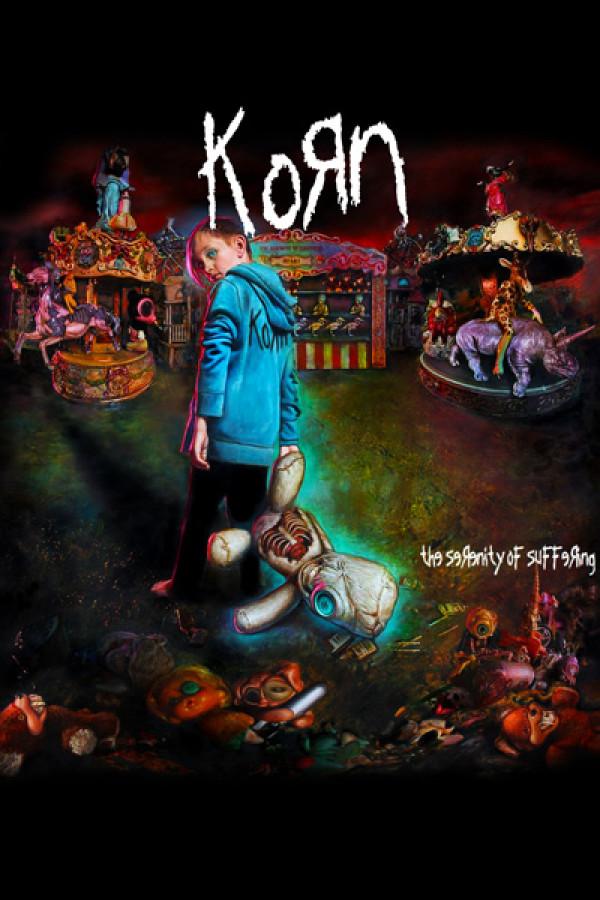 Camiseta Korn - The Serenity of Suffering