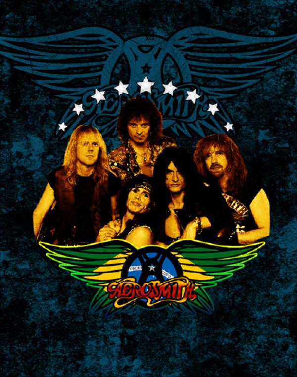 Camiseta Aerosmith Rock n' Rio