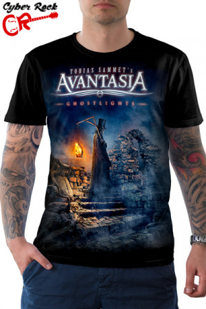Camiseta Avantasia Ghostlights