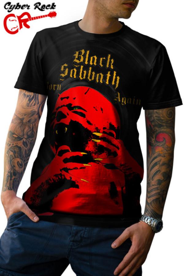 Camiseta Black Sabbath Born Again