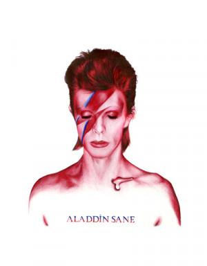 Camiseta David Bowie Aladdin Sane