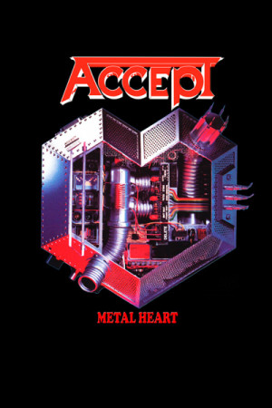 Camiseta Cirith Accept - Metal Heart