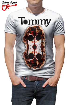 Camiseta Tommy the who branca