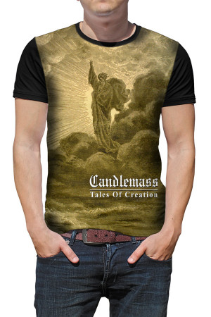 Camiseta Candlemass Tales of Creation