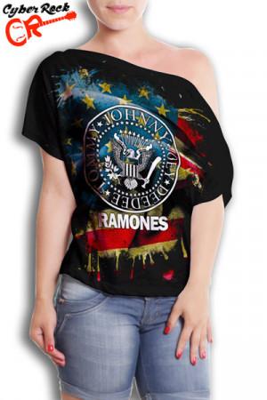 Blusinhas Ramones USA