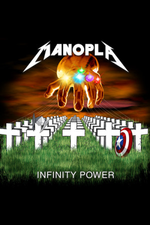 Camiseta Manopla Infinity Power