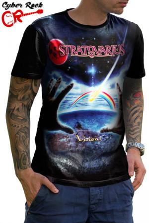 Camiseta Stratovarius Visions