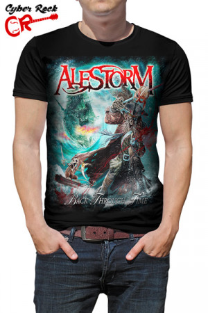 Camiseta Alestorm Back Through Time
