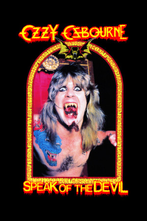 Camiseta Ozzy Osbourne - Speak of the Devil