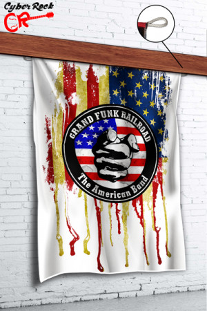 Bandeira Grand Funk Railroad