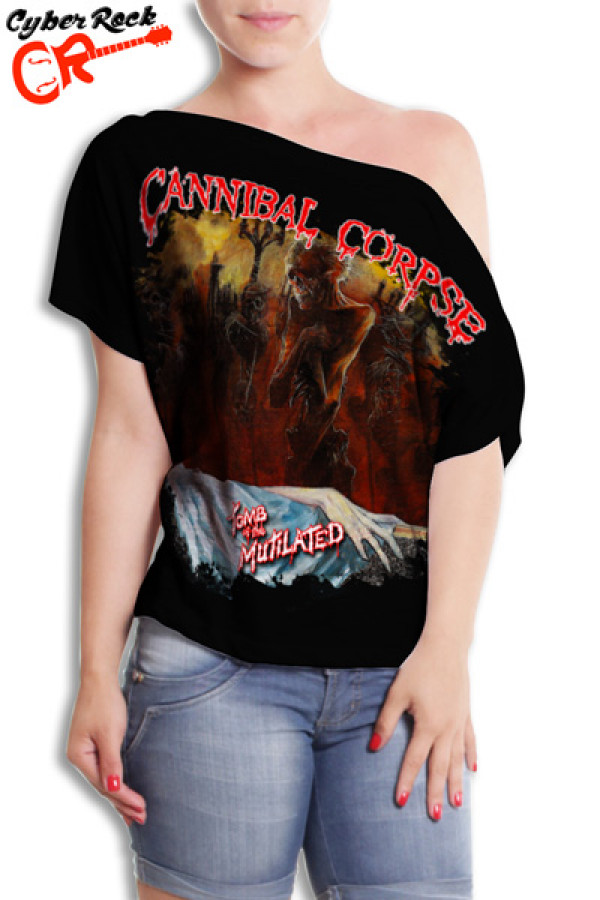 Blusinha Cannibal Corpse Mutilated