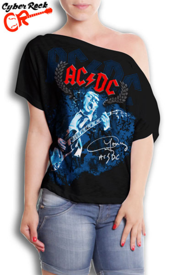 Blusinha AC/DC Angus Young