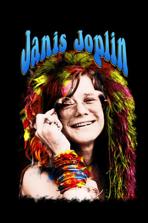 Camiseta Janis Joplin