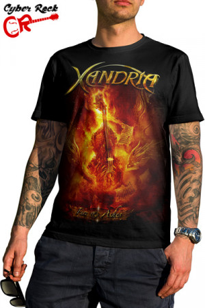 Camiseta Xandria Fire And Ashes