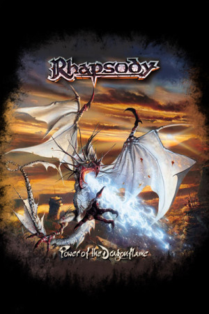 camiseta Rhapsody Power of the Dragon Flame