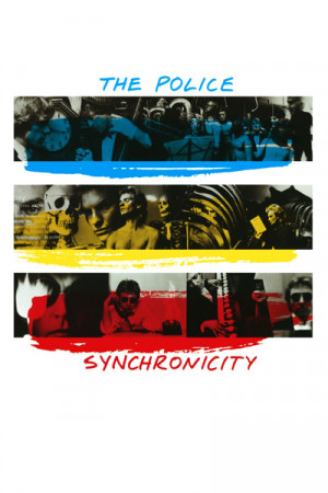 camiseta the police Synchronicity