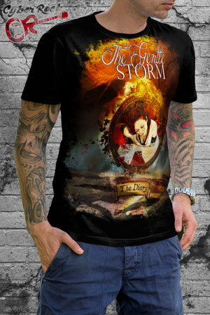 Camiseta The Gentle Storm The Diary
