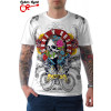 Camiseta Guns `N` Roses Live Branca