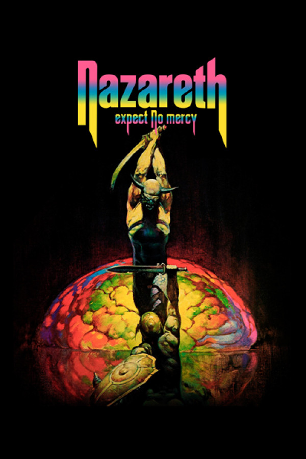 Camiseta Nazareth Expect No Mercy