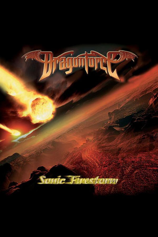 Arte Dragonforce Sonic Firestorm