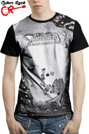 Camiseta Radiohead - A Moon Shaped Pool