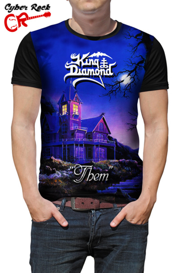 Camiseta King Diamond Them