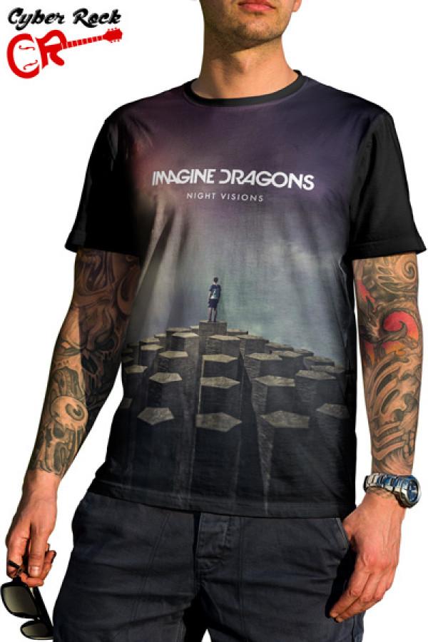1ab3dee3ea Camiseta Imagine Dragons - Evolve ...